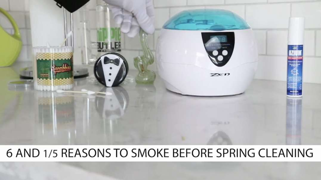 6 and 1/5 Reasons to Smoke Before Spring Cleaning