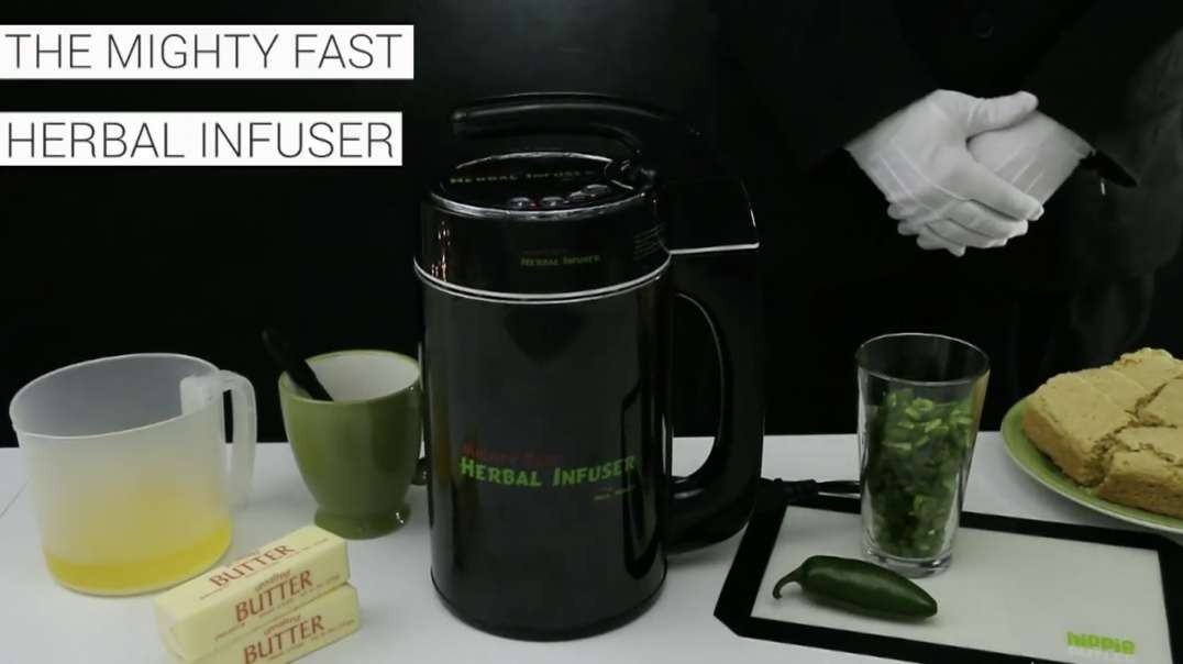 The Mighty Fast Herbal Infuser is Truly the Fastest Infuser