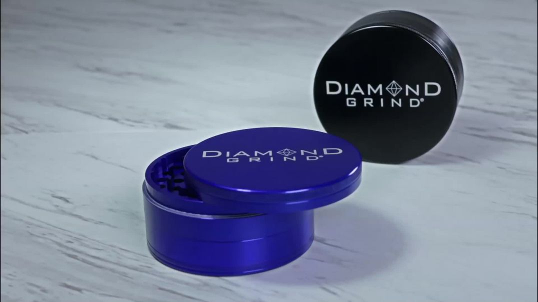 Diamond Grind 4 Piece 90mm