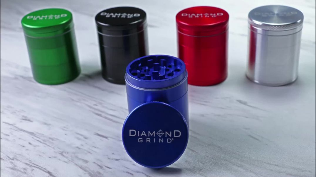 Diamond Grind 5 Piece 50mm Grinder