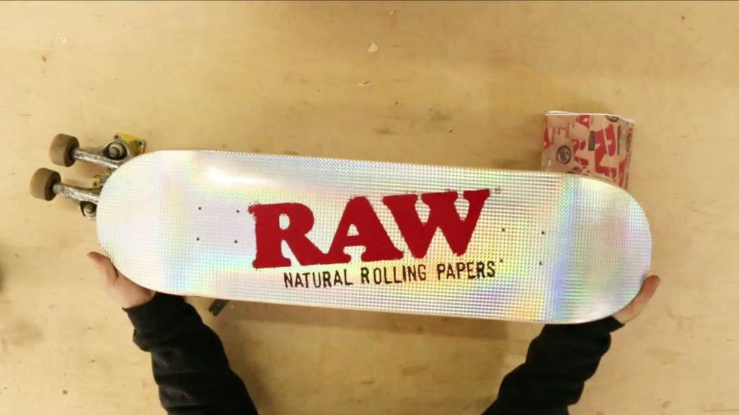 Deck Out Your Deck: Assembling Your New RAW Skateboard Deck